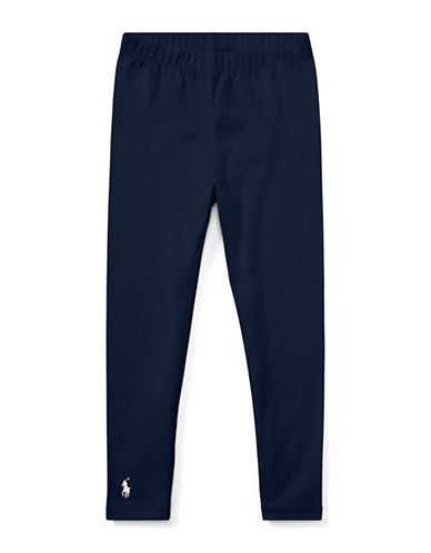 Ralph Lauren Childrenswear Stretch Leggings-NAVY-5