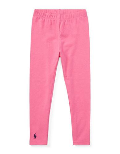 Ralph Lauren Childrenswear Stretch Leggings-BAJA PINK-5