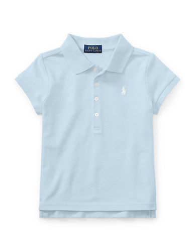 Ralph Lauren Childrenswear Mesh Short-Sleeve Polo-ELITE BLUE-5