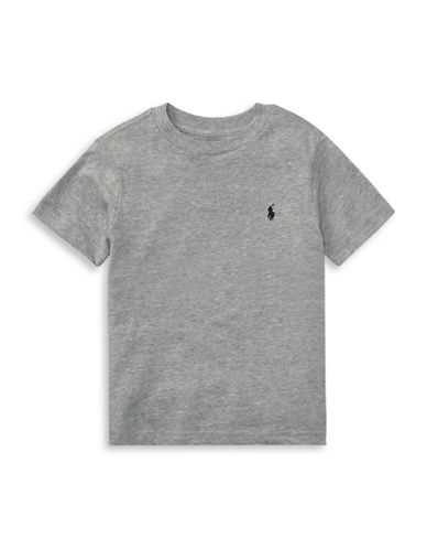 Ralph Lauren Childrenswear Jersey Cotton Tee-GREY-2