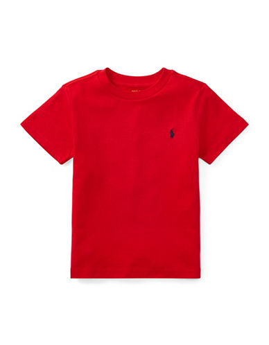 Ralph Lauren Childrenswear Jersey Cotton Tee-RED-4