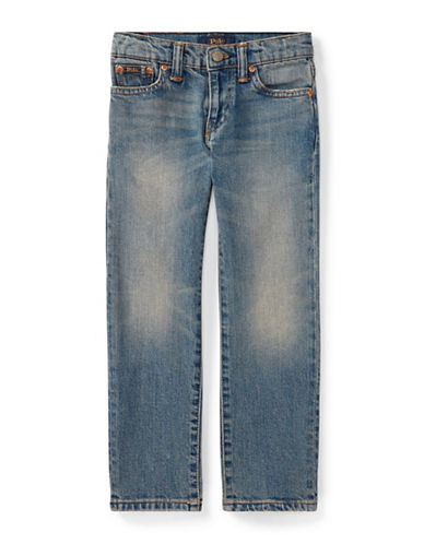 Ralph Lauren Childrenswear Straight-Leg Stretch Jeans-BLUE-2