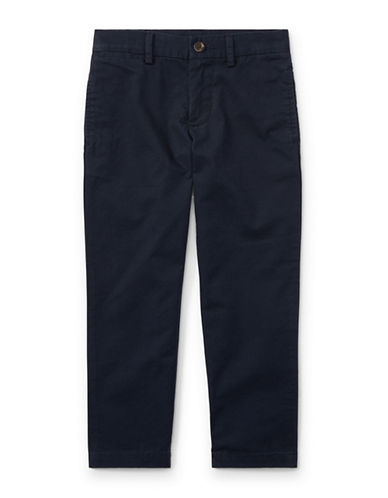 Ralph Lauren Childrenswear Slim-Fit Cotton Chino-BLACK-2
