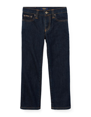 Ralph Lauren Childrenswear Straight-Leg Stretch Jeans-BLUE-6
