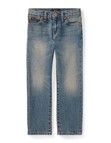 Ralph Lauren Childrenswear Straight-Leg Stretch Jeans-BLUE-6