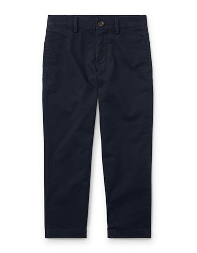 Ralph Lauren Childrenswear Slim-Fit Cotton Chinos-BLUE-7