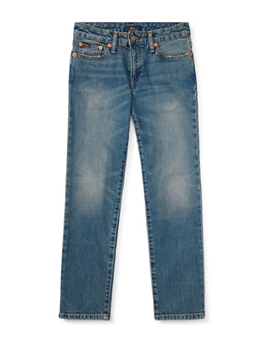 Ralph Lauren Childrenswear Straight Stretch Jeans-BLUE-16