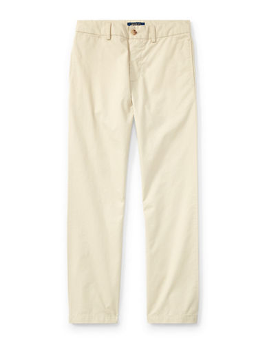 Ralph Lauren Childrenswear Slim-Fit Cotton Chinos-BEIGE-14
