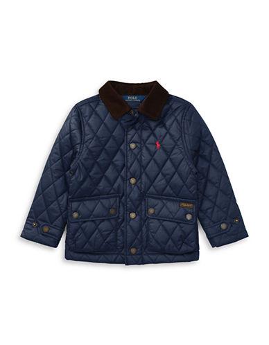 Ralph Lauren Childrenswear Quilted Barn Jacket-BLUE-6