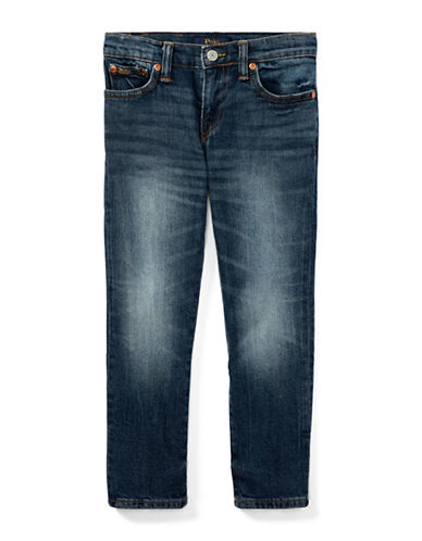 Ralph Lauren Childrenswear Eldridge Stretch Skinny Jeans-BLUE-3
