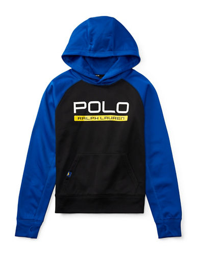 Ralph Lauren Childrenswear Tech Fleece Hoodie-BLACK-Medium 89477583_BLACK_Medium