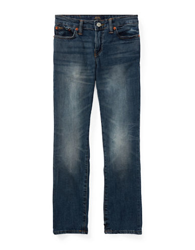Ralph Lauren Childrenswear Eldridge Stretch Skinny Jeans-BLUE-16