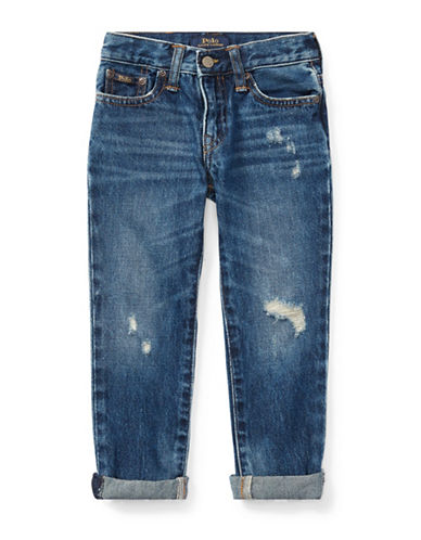 Ralph Lauren Childrenswear Sullivan Slim-Fit Jeans-BLUE-6