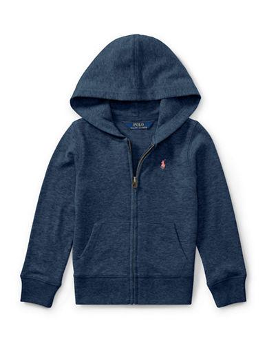 Ralph Lauren Childrenswear French Terry Full-Zip Hoodie-BLUE-4