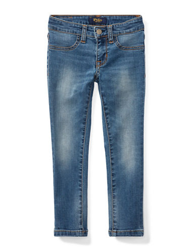 Ralph Lauren Childrenswear Aubrie Denim Leggings-BLUE-2