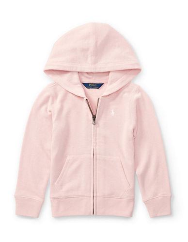 Ralph Lauren Childrenswear French Terry Full-Zip Hoodie-PINK-6
