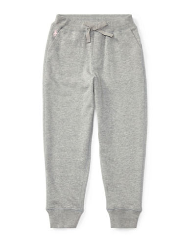 Ralph Lauren Childrenswear French Terry Jogger Pants-GREY-6X