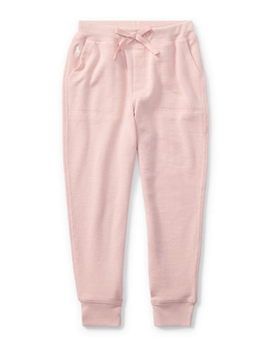 Ralph Lauren Childrenswear French Terry Jogger Pants-PINK-6X