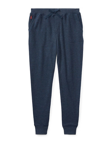 Ralph Lauren Childrenswear French Terry Jogger Pants-BLUE-Medium 89525928_BLUE_Medium