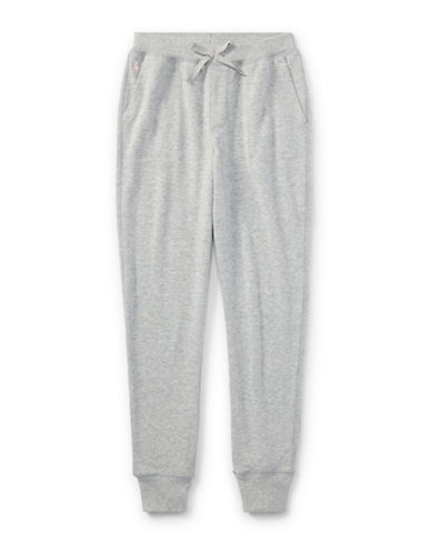 Ralph Lauren Childrenswear French Terry Jogger Pants-GREY-Large