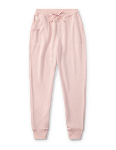 Ralph Lauren Childrenswear French Terry Jogger Pants-PINK-Large