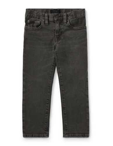 Ralph Lauren Childrenswear Stretch Skinny Jeans-GREY-2