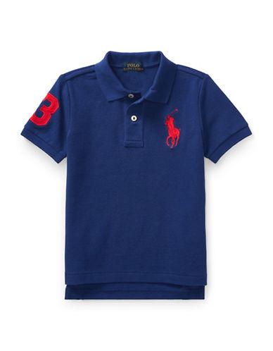 Ralph Lauren Childrenswear Cotton Mesh Polo-ROYAL BLUE-7