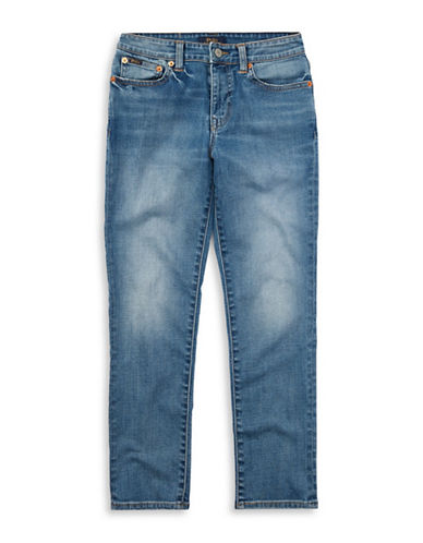 Ralph Lauren Childrenswear Eldridge Stretch Skinny Jeans-BLUE-18