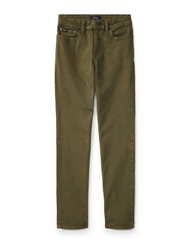 Ralph Lauren Childrenswear Eldridge Skinny Jeans-GREEN-16