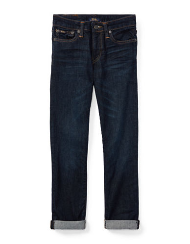 Ralph Lauren Childrenswear Eldridge Stretch Skinny Jean-BLUE-18