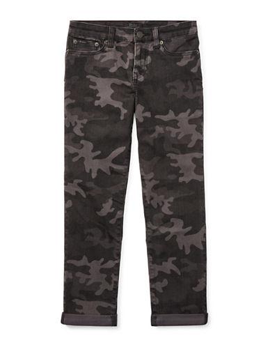 Ralph Lauren Childrenswear Skinny Stretch Jeans-GREY-12