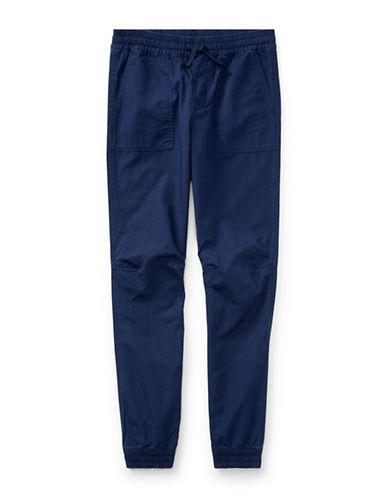 Ralph Lauren Childrenswear Cotton Ripstop Joggers-BLUE-Medium