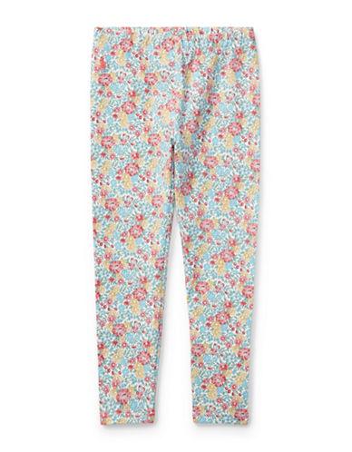 Ralph Lauren Childrenswear Floral Jersey Legging-BEIGE-5