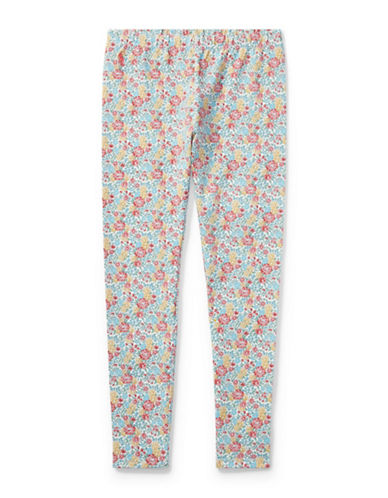 Ralph Lauren Childrenswear Floral Jersey Leggings-MULTI-X-Large