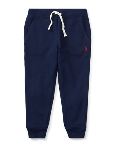 Ralph Lauren Childrenswear Fleece Jogger Pants-BLUE-6
