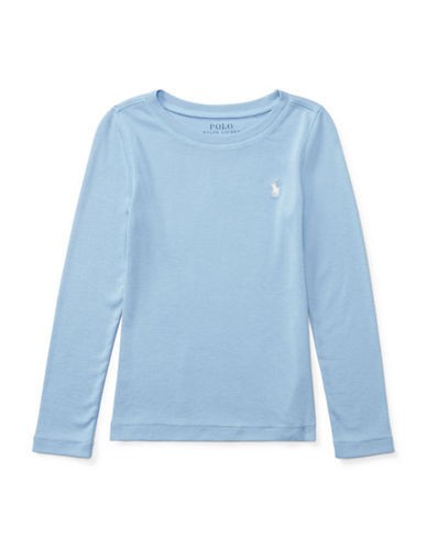 Ralph Lauren Childrenswear Long-Sleeve T-Shirt-BLUE-6