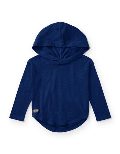 Ralph Lauren Childrenswear Cotton Hooded Pullover-BLUE-2