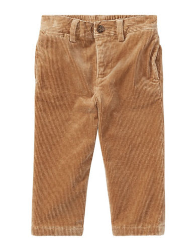 Ralph Lauren Childrenswear Stretch Cotton Corduroy Pants-BEIGE-24 Months