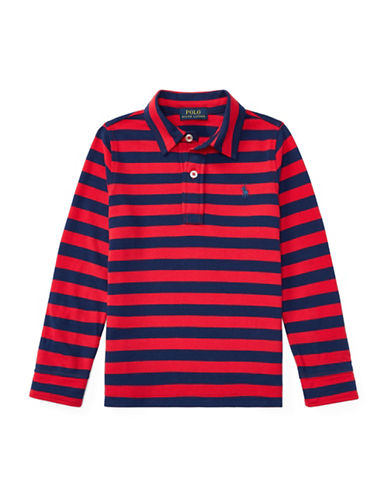 Ralph Lauren Childrenswear Featherweight Cotton Polo-RED-4