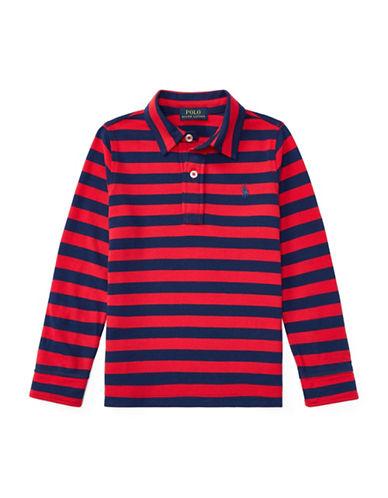 Ralph Lauren Childrenswear Featherweight Cotton Polo-RED-2