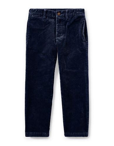 Ralph Lauren Childrenswear Slim-Fit Stretch Corduroy Pants-BLUE-2T