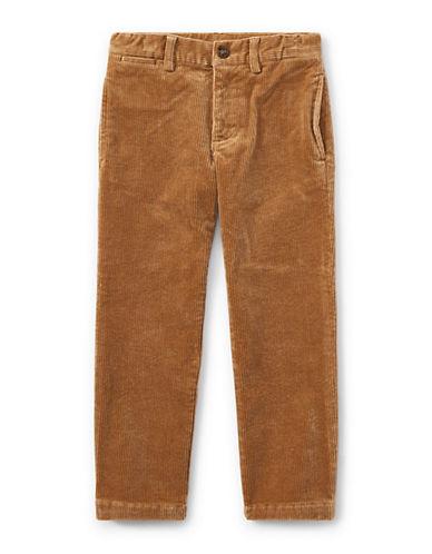 Ralph Lauren Childrenswear Slim-Fit Stretch Corduroy Pants-BEIGE-3T