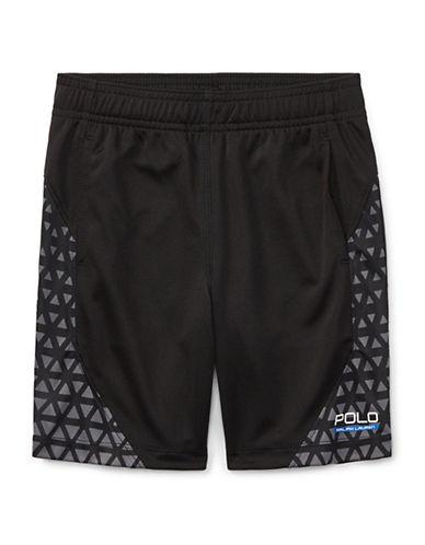 Ralph Lauren Childrenswear Performance Shorts-BLACK-2T