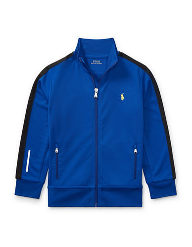 Ralph Lauren Childrenswear Performance Track Jacket-BLUE-2T