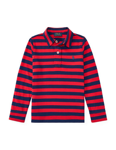 Ralph Lauren Childrenswear Featherweight Cotton Polo-RED-6