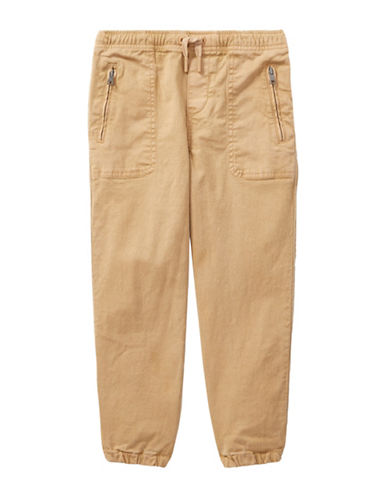 Ralph Lauren Childrenswear Chino-Paneled Pants-BEIGE-5