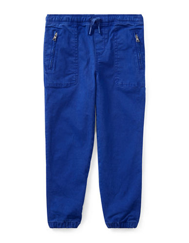 Ralph Lauren Childrenswear Chino-Paneled Pants-BLUE-6