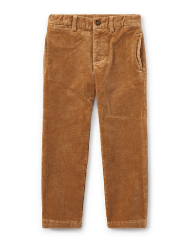 Ralph Lauren Childrenswear Slim-Fit Stretch Corduroy Pants-BEIGE-6