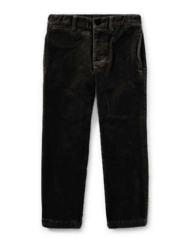 Ralph Lauren Childrenswear Slim-Fit Stretch Corduroy Pants-BLACK-7