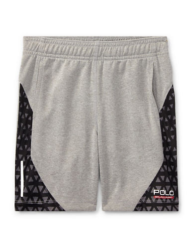 Ralph Lauren Childrenswear Performance Shorts-GREY-6